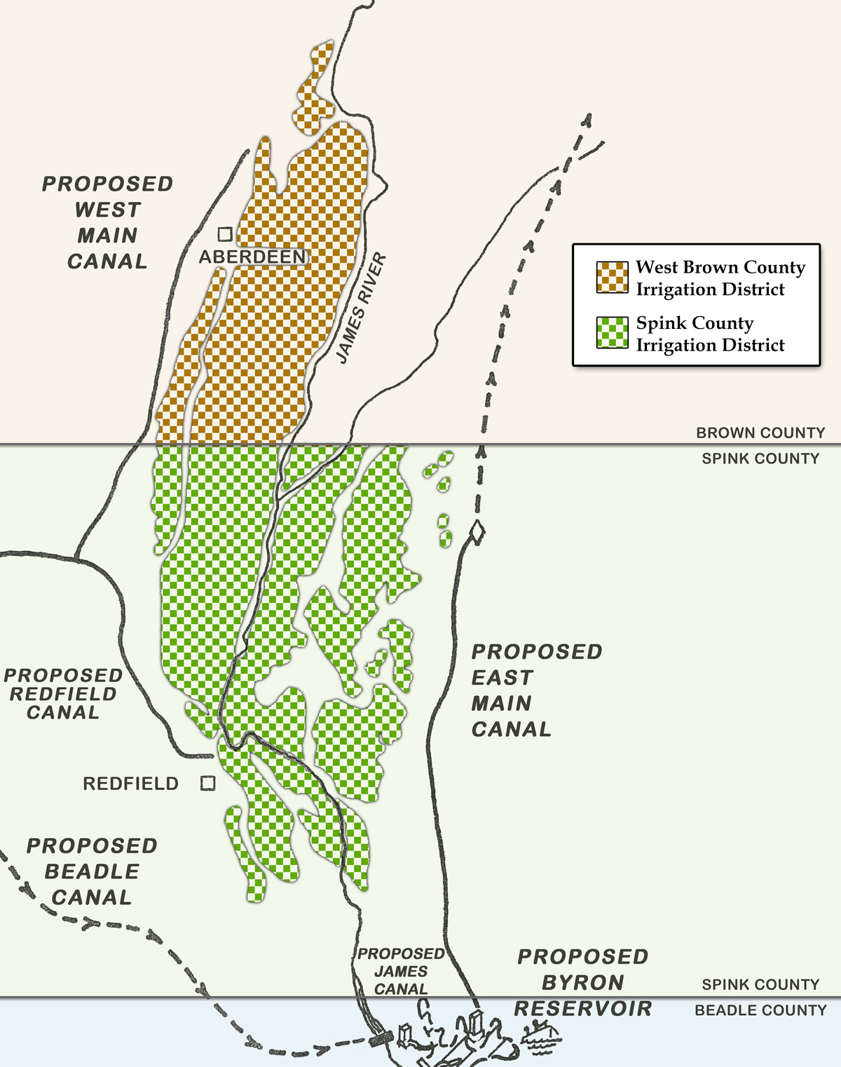 Irrigation District Boundaries