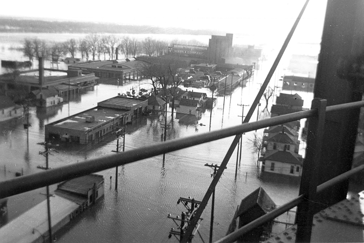 Sioux City flooded